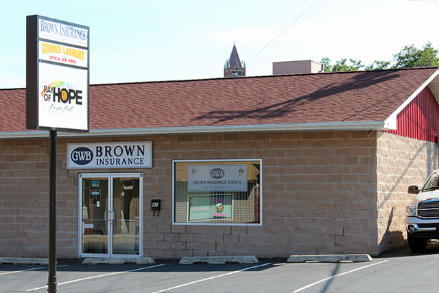 George Browns Insurance Office Picture